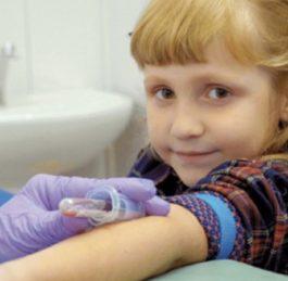 Specifika odběrů krve u dětí