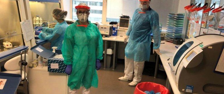 Testování COVID-19 v laboratořích SYNLABU